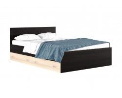 """Кровать """"Виктория&; 1400 с выдвижными ящиками и матрасо"""