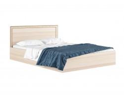 """Кровать """"Виктория-Б&; 1400 с цвете дуб и матр"""