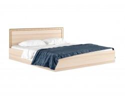 """Кровать Двуспальная """"&;Виктория-Б&; 1800 дуб с"""