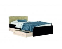 Кровать Полутороспальная Виктория-120 с ящиками, и