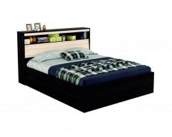 """Кровать Двуспальная """"Виктория&; 1600 с откидным блоком"""