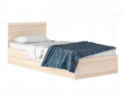 """Односпальная кровать """"Виктория&; 800 дуб с матрасом ГОС"""