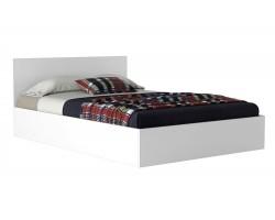 Кровать Виктория 120 белая с матрасом ГОСТ