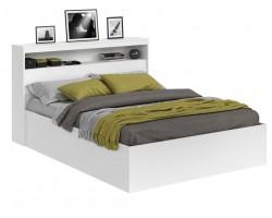 Кровать с матрасом Виктория белая 160 блоком и PROMO B COCOS
