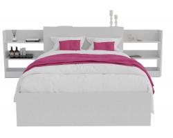 Кровать Доминика с блоком 120 (Белый)