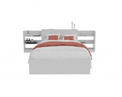 Шкаф-кровать Доминика с блоком 120 (Белый) матрасом PROMO B COCOS